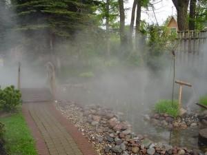 Использование систем туманообразования