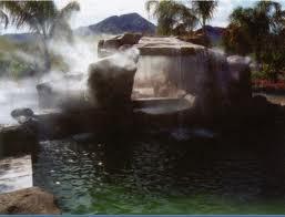 Декоративное применение систем тумана