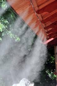 Установка систем туманообразования