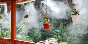 Установка систем туманообразования в Одессе