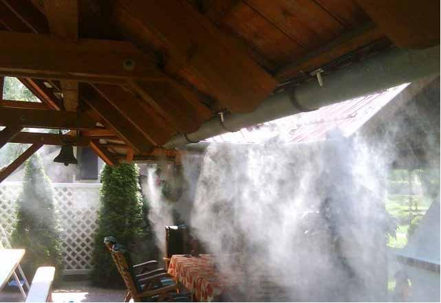Туманообразующие установка своими руками