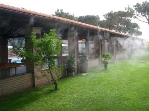 Система охлаждения открытых террас