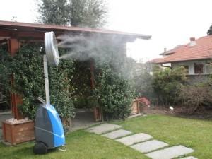 Принцип работы туманообразующих систем