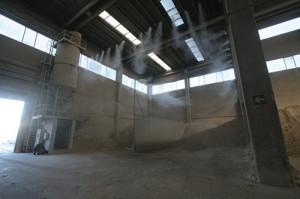 Системы туманного охлаждения для пылеподавления