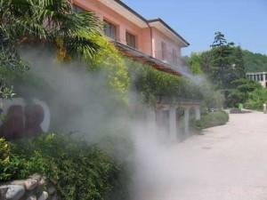 Система искусственного тумана для борьбы с насекомыми