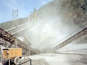 Системы туманообразования для открытых строительных площадок