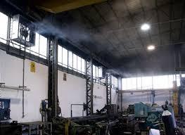 Системы искусственного тумана в промышленности