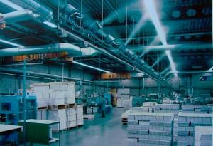 Системы туманообразования на заводах