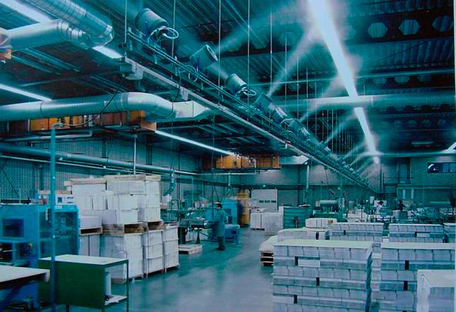 Туманообразующие системы в промышленности
