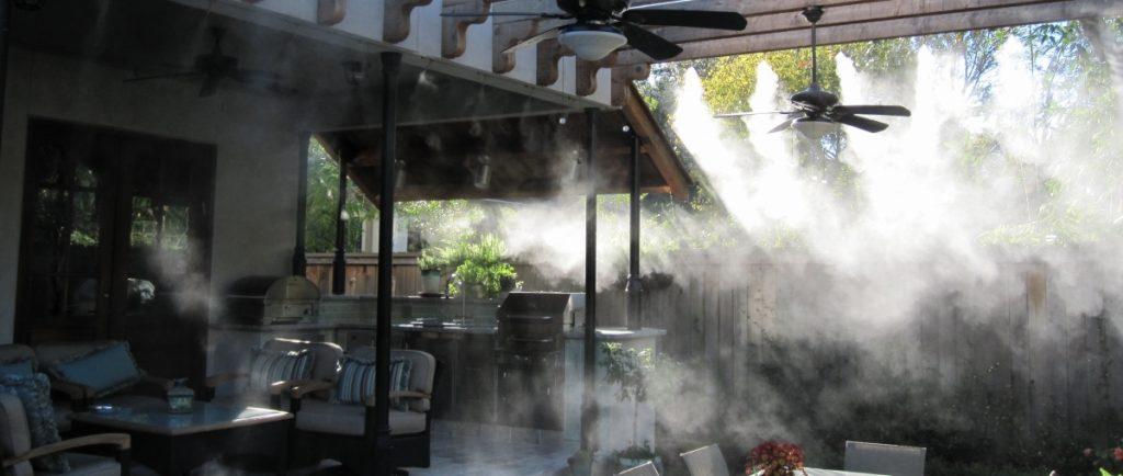 Система тумана для контроля влажности и температуры