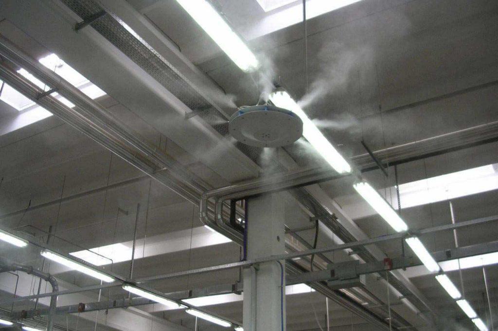Борьба с неприятными запахами с помощью искусственного тумана
