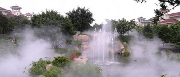 Установка и монтаж системы туманообразования